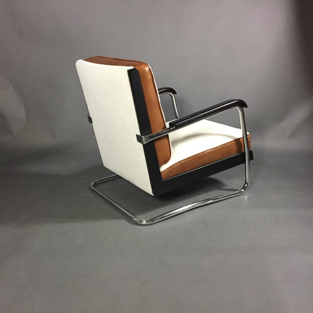 "Animal Skin Pauli Blomstedt ""Adelta"" Armchair, Finland Designed 1930s For Sale - Image 7 of 11"