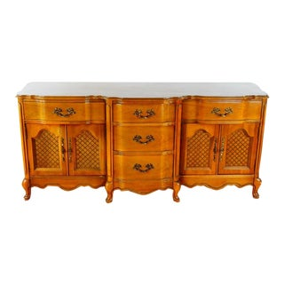 French Provincial Cherry Wood Dresser/Lowboy