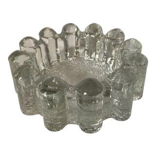 Vintage Blenko Glass Ashtray For Sale