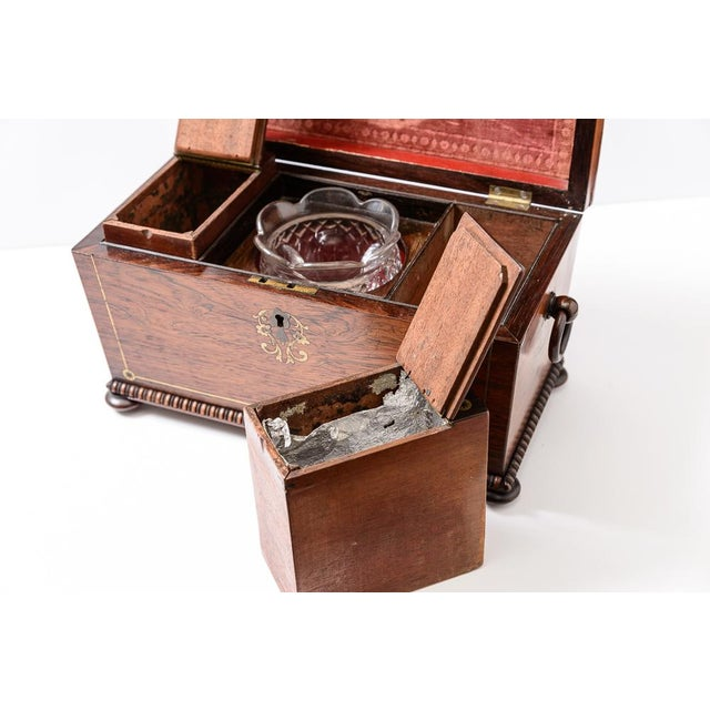 Regency tea caddy For Sale - Image 10 of 11