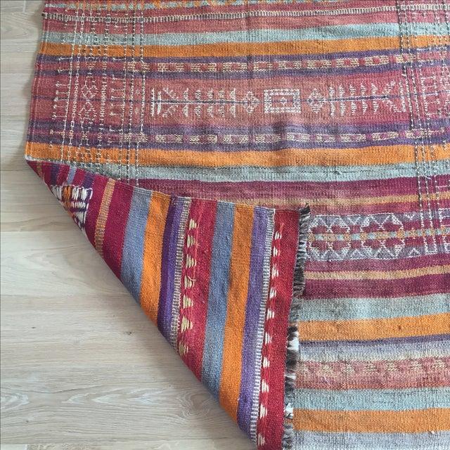 Vintage Turkish Kilim Anatolian Rug - 3′9″ × 10′4″ - Image 6 of 6