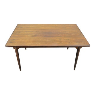 Danish Modern Rosewood Dining Table by Gunni Omann #3 For Sale