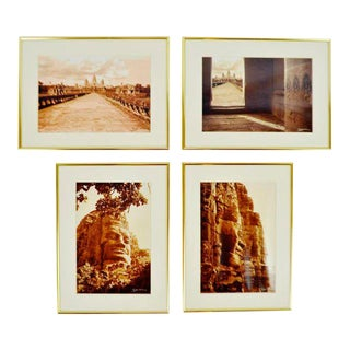 Thierry Diwo Framed Cambodian Photography Art - Set of 4 For Sale