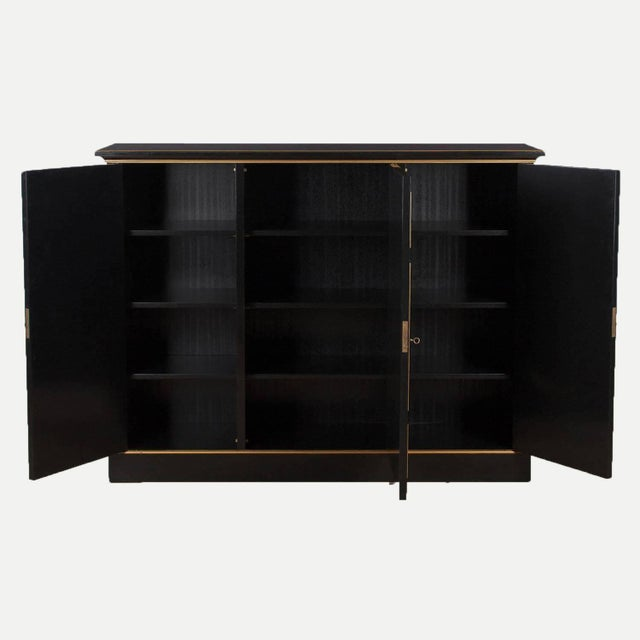 1950s Neoclassical Maurice Hirsch Cabinet, 1950s For Sale - Image 5 of 8