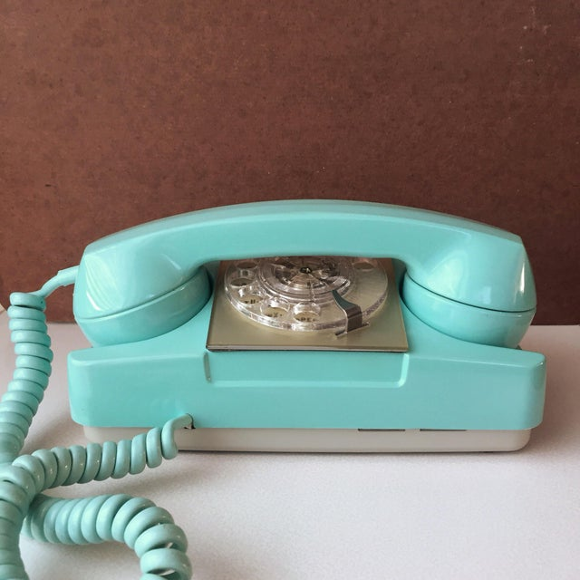 "Introduced in 1960s, inspired by Western Electric's ""princess"" phone, GTE's Starlite rotary phones are colorful and just..."