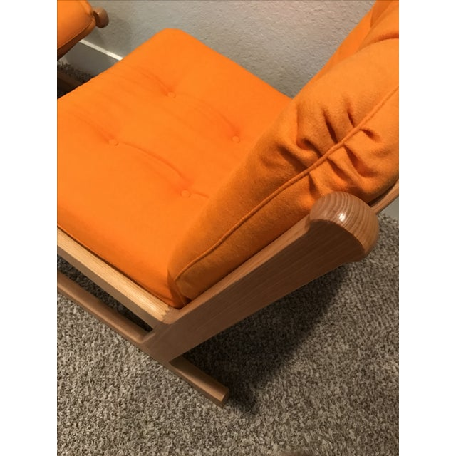 Danish Mid-Century Modern France and Son Siesta Easy Chairs - A Pair - Image 10 of 11