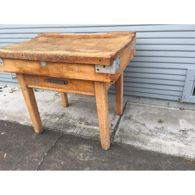 Antique French Butcher's Shop Block - Image 4 of 5