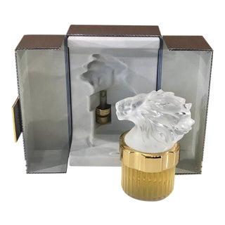 """Lalique Crystal Flacon """"Cheval"""""""