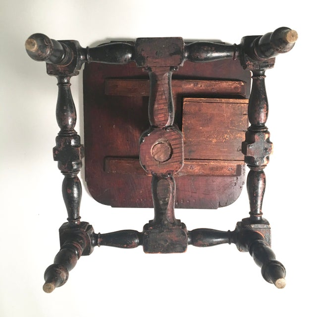 Early American Country Side Table, circa 1820-1830 - Image 7 of 9