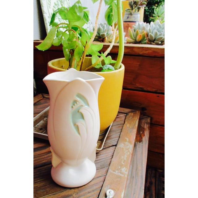 Roseville Silhouette Art Pottery Vase - Image 5 of 11