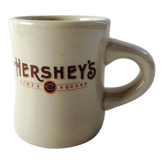 Hershey's Time Square Restaurant Style Coffee Cup Mug For Sale