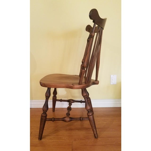 Temple Stuart Maple Dining Chairs - Set of 4 For Sale In Los Angeles - Image 6 of 10