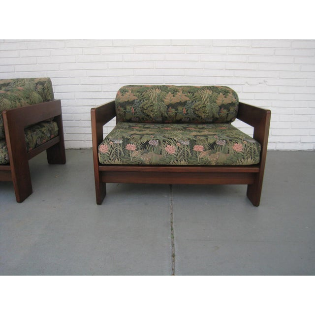 Fabric Scarpa for Knoll 'Bastiano' Sofa & Chair For Sale - Image 7 of 13