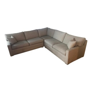 Ethan Allen Featherblend Sectional For Sale