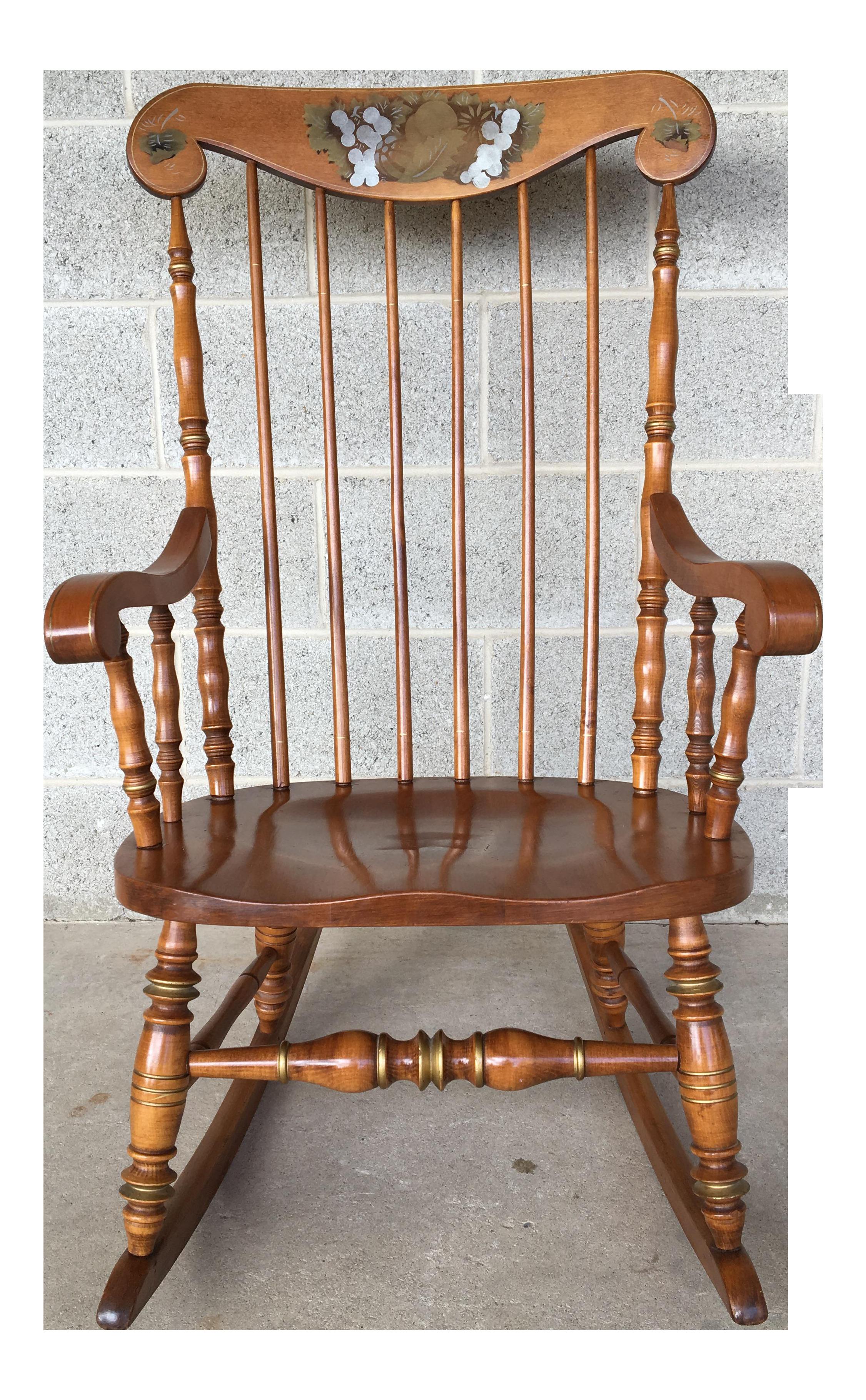 Beautiful Ethan Allen Cape Cod Rocking Chair