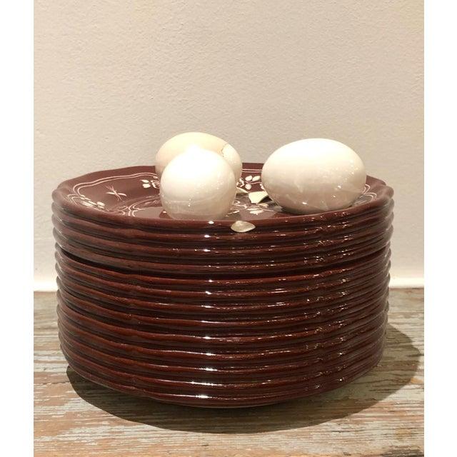 Ceramic Trompe l'Oeil Egg Container For Sale - Image 7 of 8
