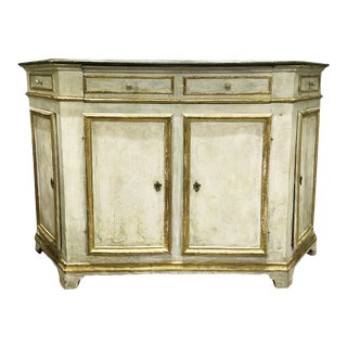Early 20th Century Painted Venetian Credenza For Sale