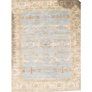 Pasargad Ny Original Turkish Oushak Design Hand-Knotted Rug - 12' X 15' For Sale