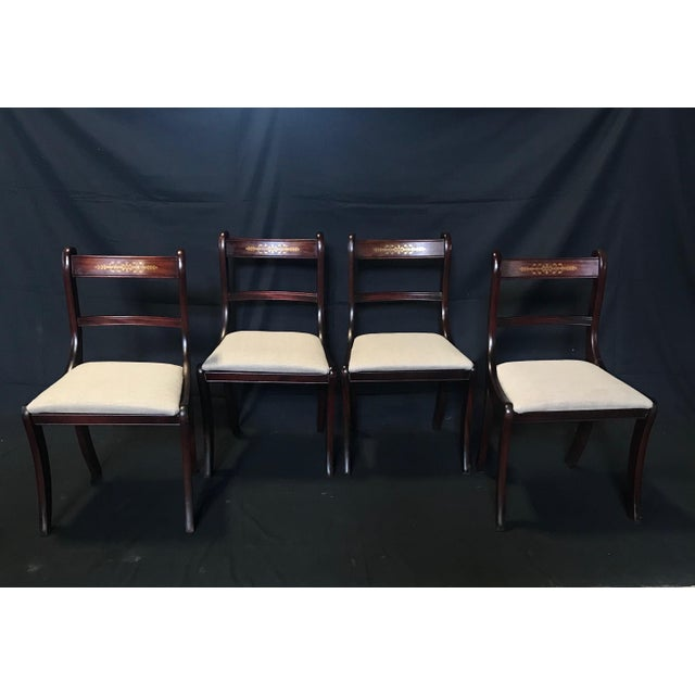 Early 19th Century Regency Dining Chairs- Set of 4 For Sale - Image 13 of 13