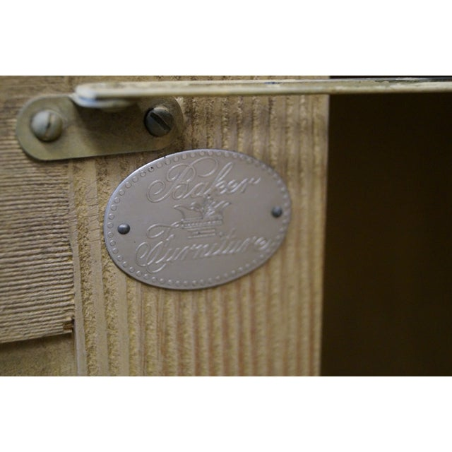 Baker Scrub Pine Architectural Corner Cabinet - Image 7 of 10