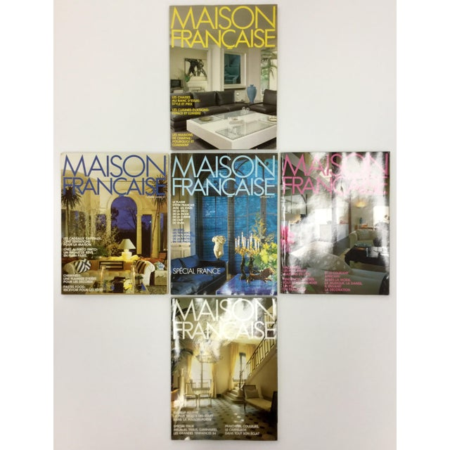 French Interior Decorating Magazines - Set of 5 For Sale - Image 13 of 13