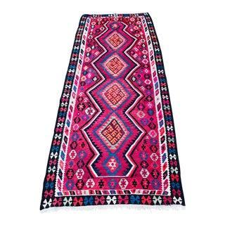 Vintage Flat Weave Kilim For Sale