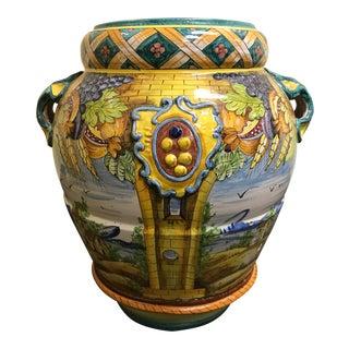 Intrada Orcio 4 Panel Large Floor Urn Vase