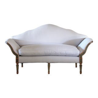 Venetian Canapé Painted Settee For Sale