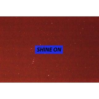 Contemporary Shine on Original Print For Sale