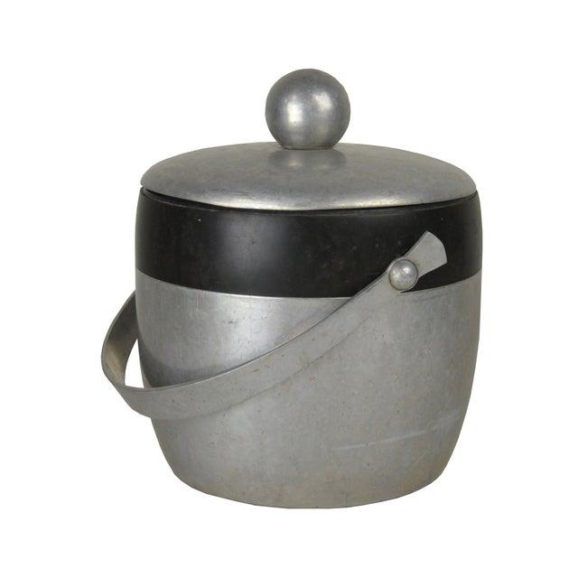 Vintage Aluminum Ice Bucket - Image 2 of 3