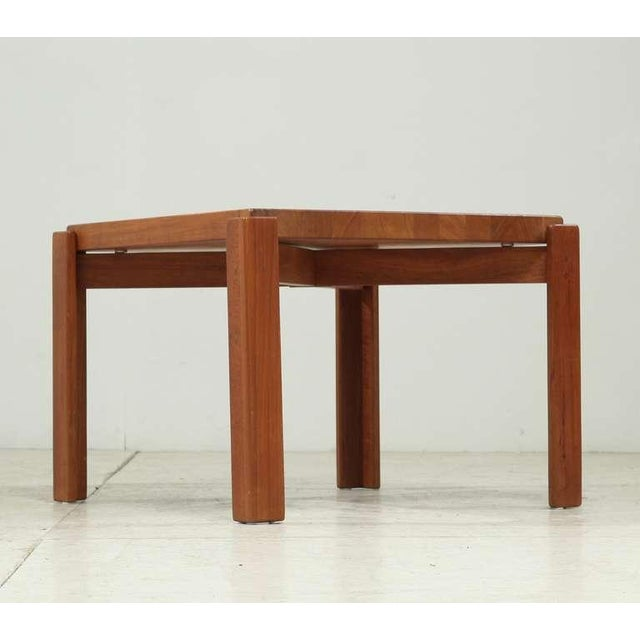 Mid-Century Modern Jens Quistgaard Teak Tray Table with Concave Top, Denmark, 1960s For Sale - Image 3 of 7