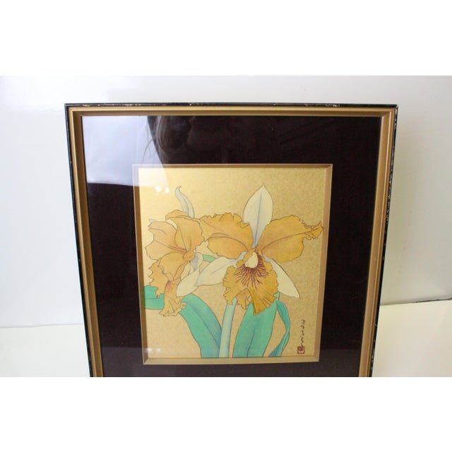 Mid 20th Century Asian Daffodil Print For Sale - Image 5 of 8