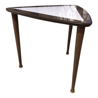 1970s Swedish Triangular End Table For Sale