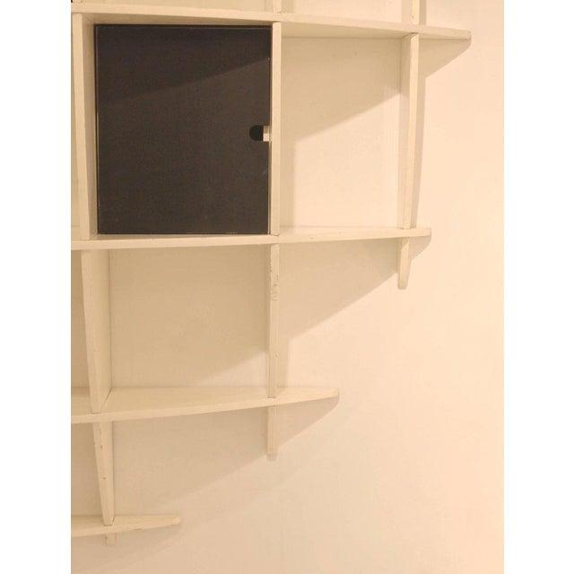 """Tyko"" Lacquered Wood Bookshelf by Manfredo Massironi for Nikol International For Sale - Image 6 of 11"