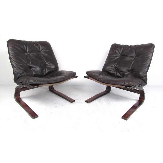 Strange Pair Of Mid Century Modern Westnofa Siesta Chairs Gmtry Best Dining Table And Chair Ideas Images Gmtryco