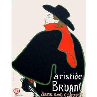 1966 Mourlot Toulouse Lautrec Aristide Bruant Lithograph 10 For Sale