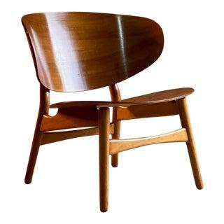 Mid-Century Danish Hans Wegner Shell Chair Model Fh 1936 for Fritz Hansen For Sale