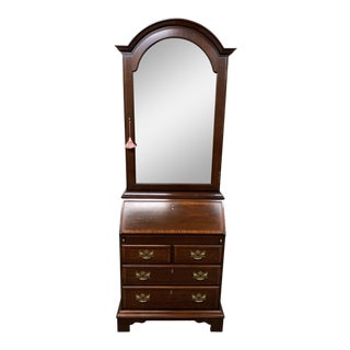 Vintage Mahogany Secretary For Sale