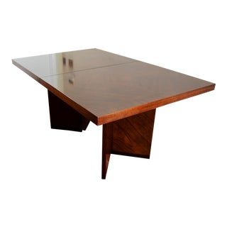 Mid Century Brutalist Dining Table by Lane