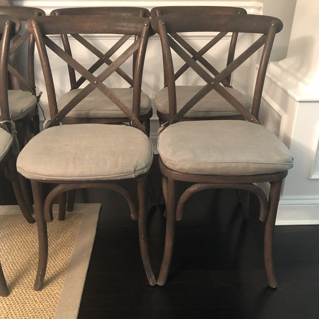 2010s Thonet Styled Restoration Hardware Dining Chairs-Set of 6 For Sale - Image 5 of 13