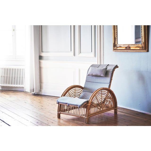 Brown Arne Jacobsen Paris Chair - Natural For Sale - Image 8 of 13