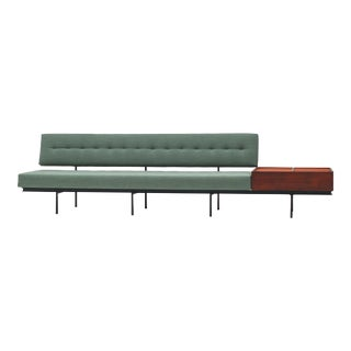 1954 Florence Knoll Sofa With Integrated Magazine Cabinet