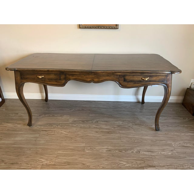 French Louis XV Mahogany Solid Wood Table For Sale - Image 13 of 13