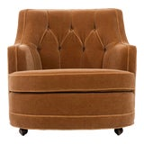 Image of 1940s Vintage Edward Wormley for Dunbar Lounge Chair For Sale