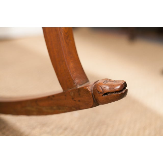Teak Rocking Chair from 19th C. India - Image 6 of 6