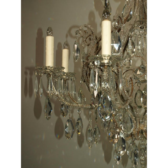 Early 20th Century Antique Chandelier. Venetian Chandelier For Sale - Image 5 of 8