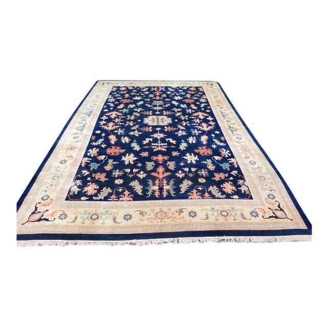 Persian Heriz Pattern Rug - 27' x 17' For Sale