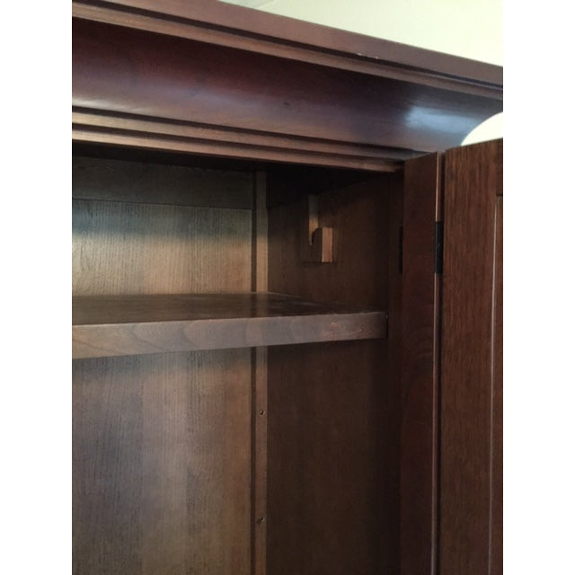 Pottery Barn Solid Wood Entertainment Cabinet / Armoire - Image 4 of 5