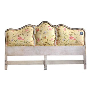 King Size Upholstered Headboard For Sale