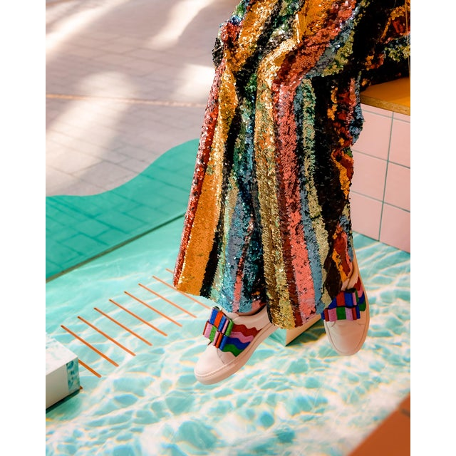 """""""Rainbow Sequins"""" Contemporary Special Pride Edition Photograph Print 20""""w X 30""""h For Sale"""
